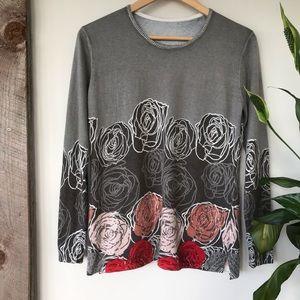Italian wool blend sweater